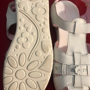 Stride Rite Shoes - Stride rite girl white dress shoes